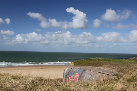 Remains of the Atlantic Wall, North Sea, The Hague, Netherlands