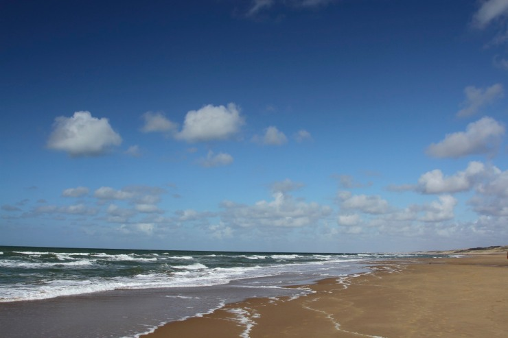 North Sea beach, The Hague, Netherlands