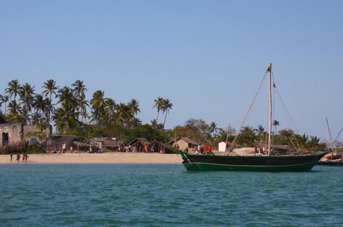 Boats, Quirimba Island, Quirimbas Archipelago, Mozambique, Africa