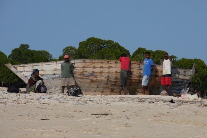 People, Quirimba Island, Quirimbas Archipelago, Mozambique, Africa