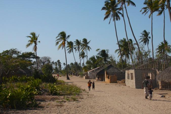 Village, Quirimba Island, Quirimbas Archipelago, Mozambique, Africa