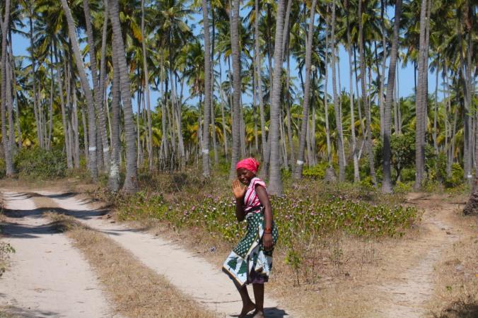 Young woman, Quirimba Island, Quirimbas Archipelago, Mozambique, Africa