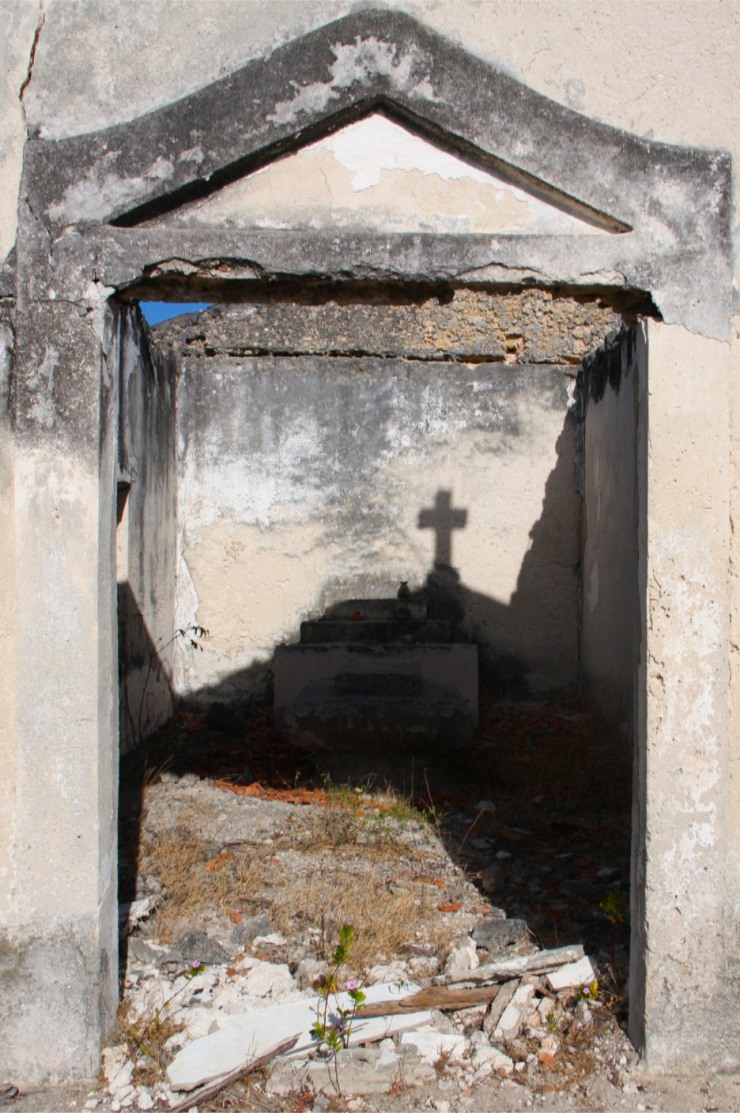 Old Portuguese cemetery on Ibo Island, Mozambique, Africa