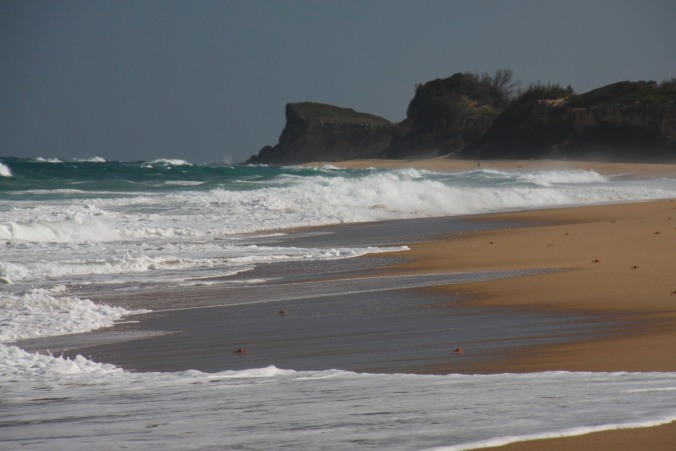 The beach at Bilene, Mozambique, Africa