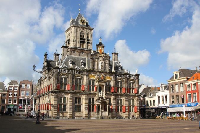 Delft City Hall, Delft, Netherlands