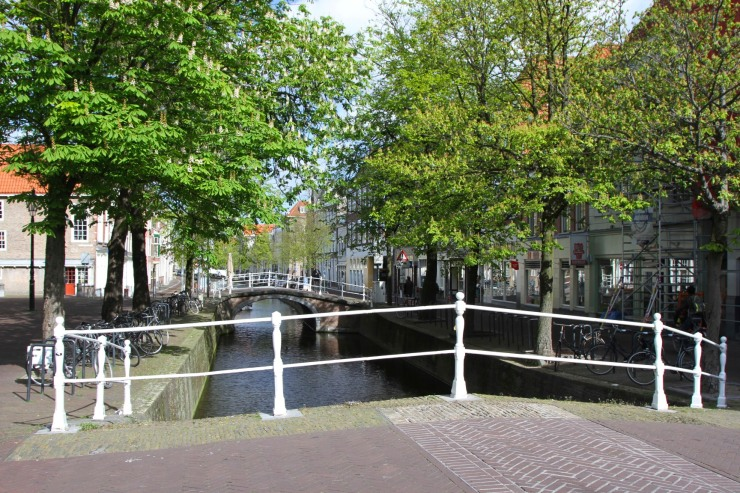 Canal, Delft, Netherlands