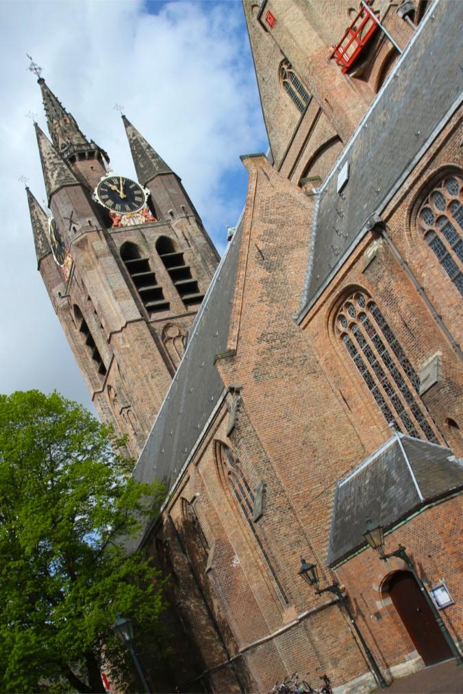 Oude Kerk (Old Church), Delft, Netherlands