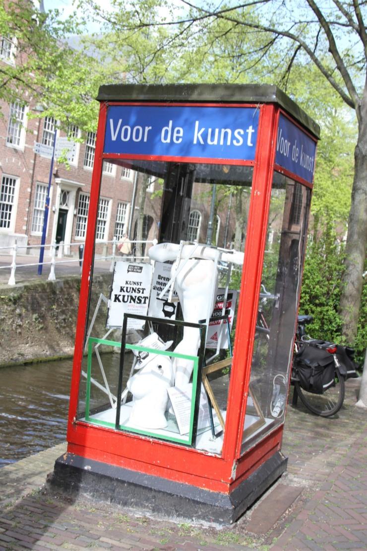 Modern art, Delft, Netherlands