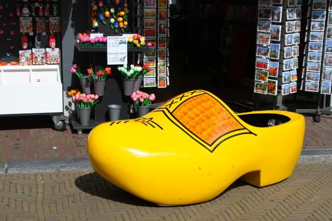 Giant clog, Delft, Netherlands