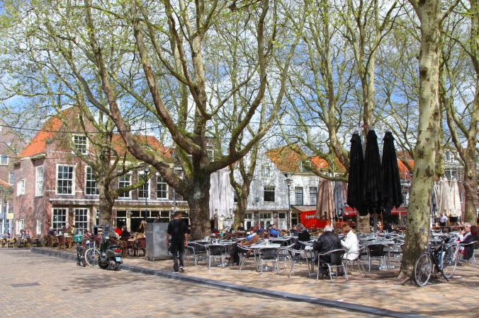 Small square, Delft, Netherlands
