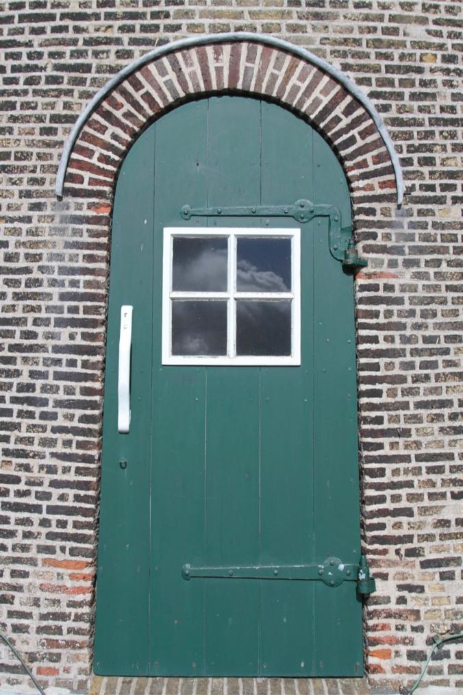 Doorway, Molen de Roos, Delft, Netherlands