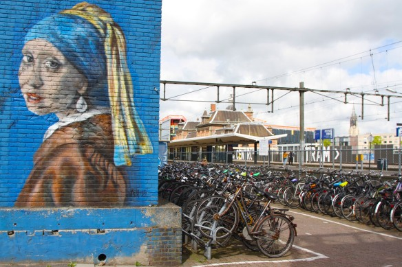 Girl with a Pearl Earring, Delft, Netherlands
