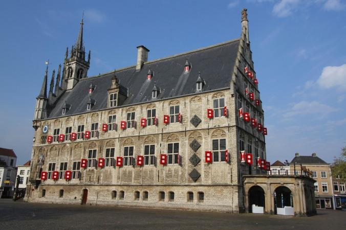 Stadhuis or City Hall, Gouda, Netherlands