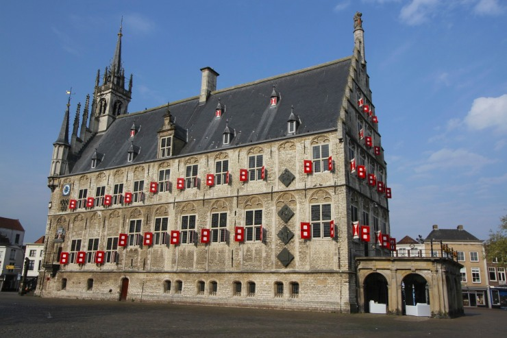 Stadhuis or City Hall, Gouda, Netherlands