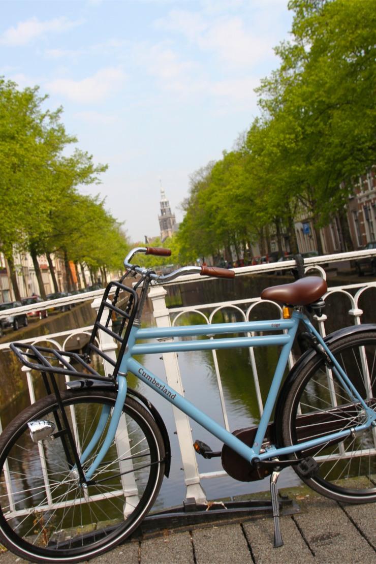 Canal, Gouda, Netherlands