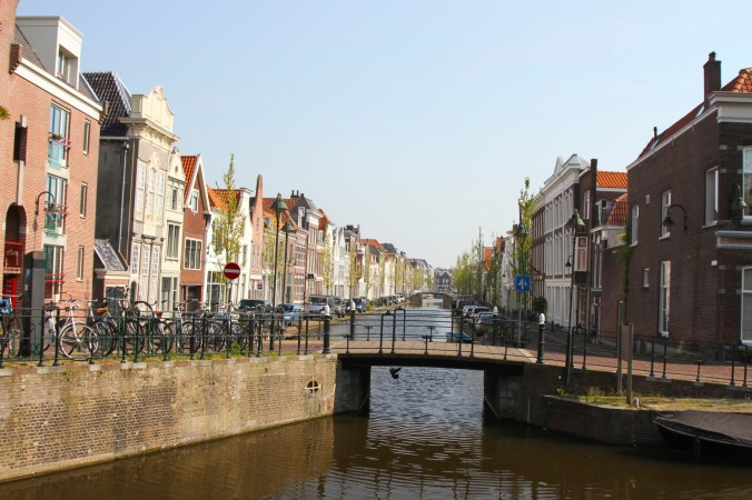Canal, Gouda, Netherlands
