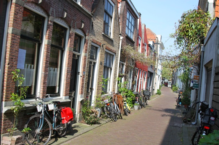 Street, Gouda, Netherlands