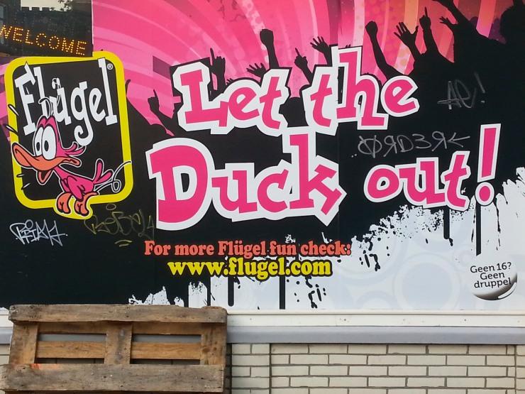 Let the Duck out, The Hague, Netherlands