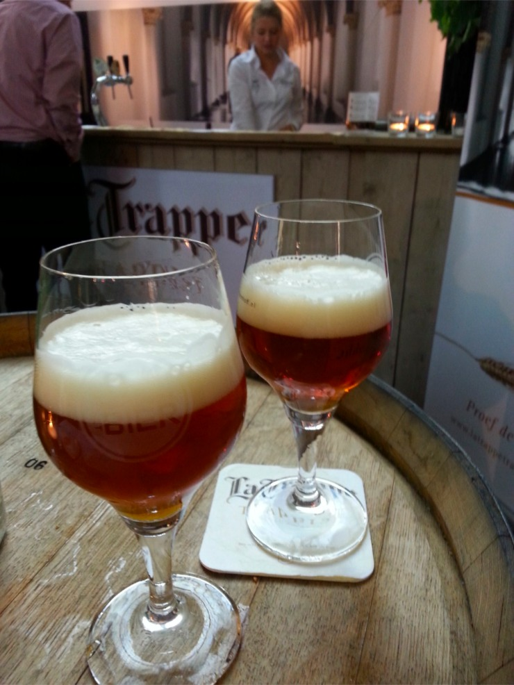 Trappist beer at The Hague Beer Festival, Netherlands