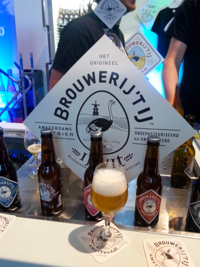A wheat beer at The Hague Beer Festival, Netherlands