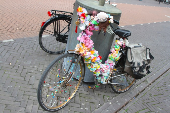 Flower power bike, The Hague, Netherlands