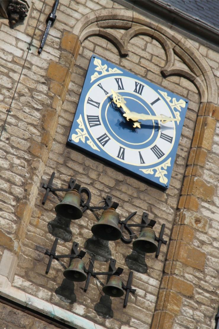 Clock, Stadhuis, Gouda, Netherlands