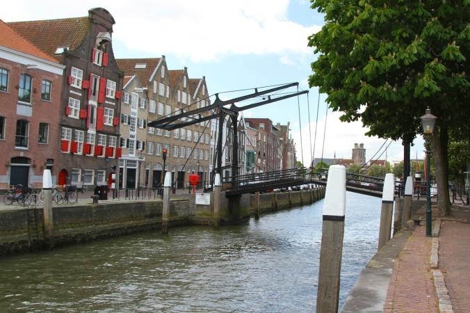 Canal bridge, Dordrecht, Netherlands