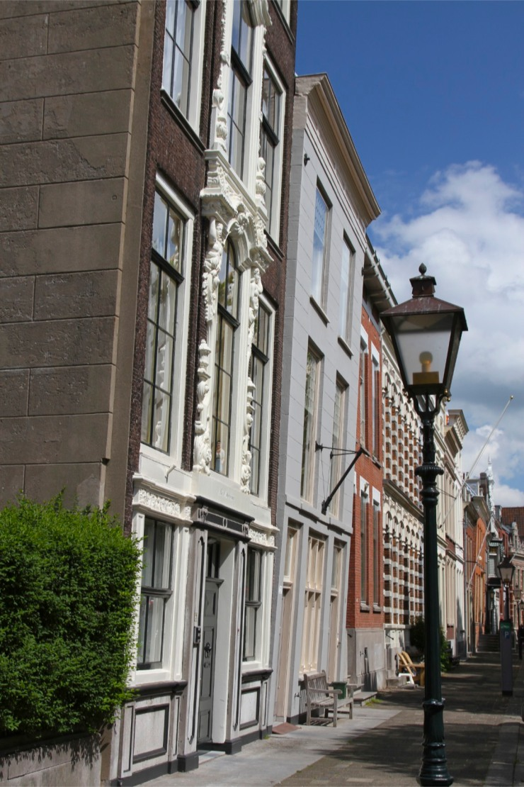 Historic buildings, Dordrecht, Netherlands