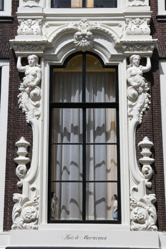 Decorous window, Dordrecht, Netherlands
