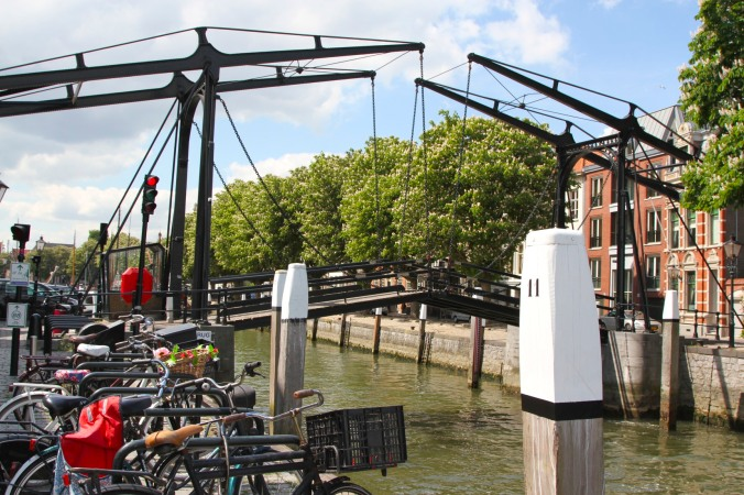 Swing bridge, Dordrecht, Netherlands