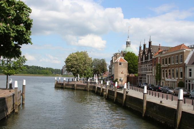 Canal meets river, Dordrecht, Netherlands