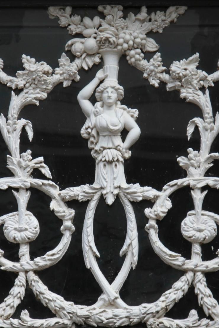 Decorative doorway, Dordrecht, Netherlands