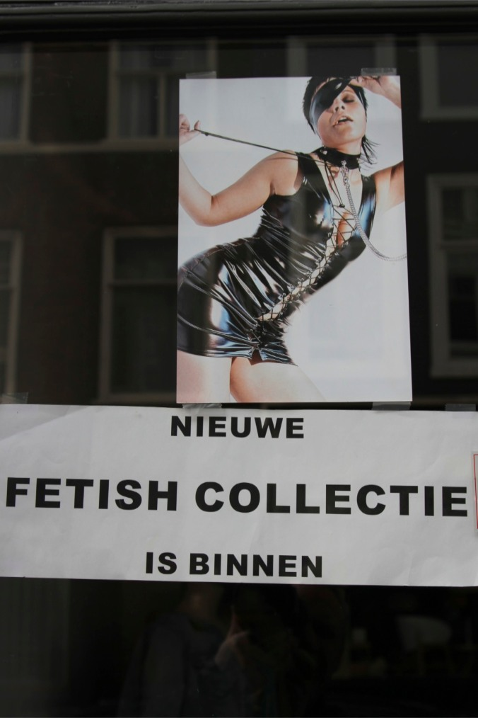 The new fetish collection has arrived, The Hague, Netherlands