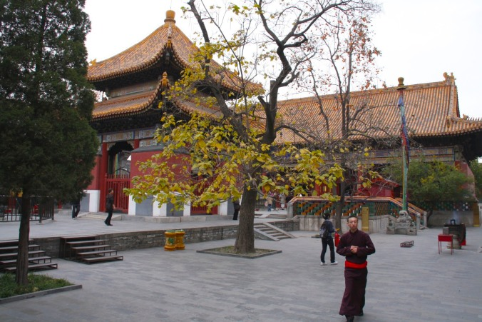Yonghe Gong Buddhist temple, Beijing, China