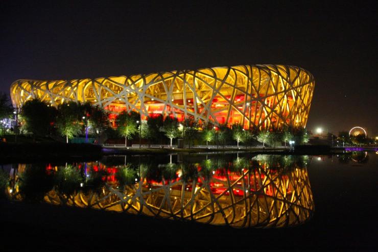 The Bird's Nest Stadium, Beijing Olympic Park, Beijing, China