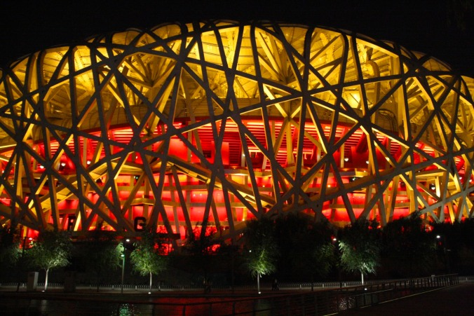 The Bird's Nest Stadium, Beijing Olympic Park, Beijing, China