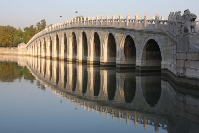 Seventeen Arched Bridge, The Summer Palace, Beijing, China