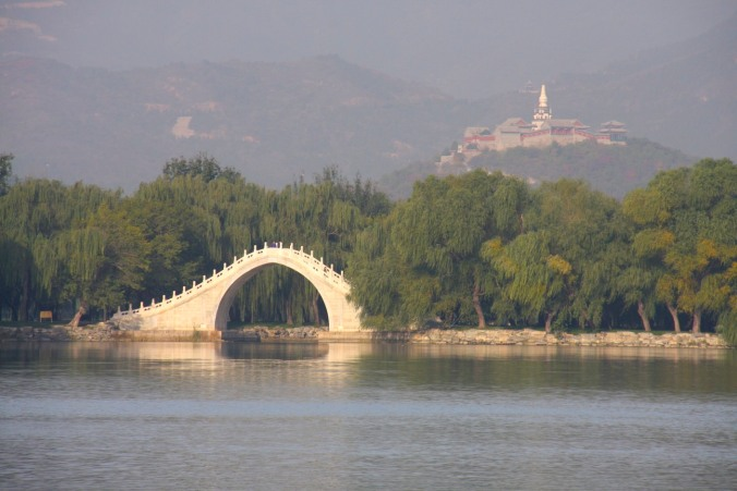 The Jade Belt bridge, Summer Palace, Beijing, China