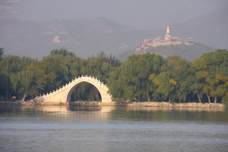 The Jade Belt bridge, Summer Palace, Beijing, China