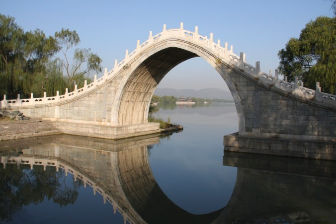 Jade Bridge on Kunming Lake, The Summer Palace, Beijing, China