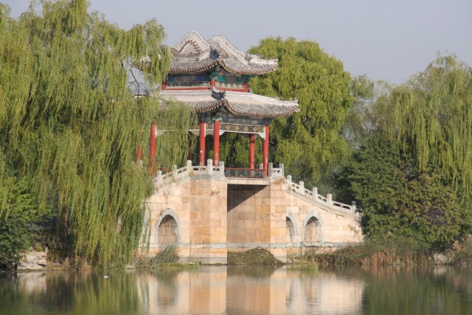 Bridge on Kunming Lake, The Summer Palace, Beijing, China
