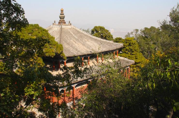 Jietai Si temple, Beijing, China