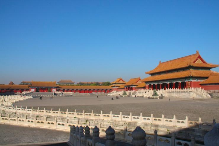 Interior courtyard, The Forbidden City, Beijing, China