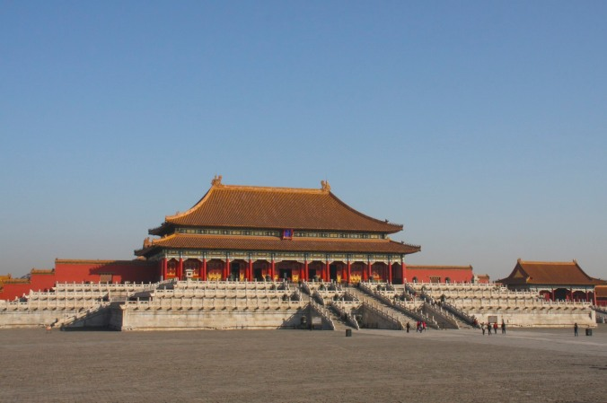Interior courtyard, The Forbidden City, Beijing, China