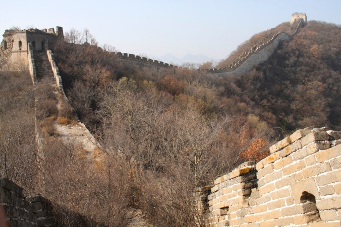 The Great Wall of China at Jiankou, China