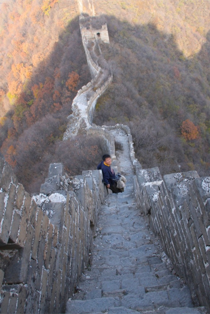 The Sky Stair, Great Wall of China at Jiankou, China