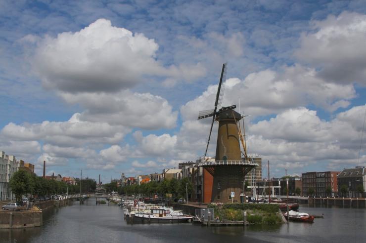 The Delfshaven windmill, Delfshaven, Netherlands