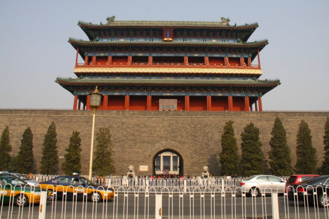 Zhenyangmen gate, Tiananmen Square, Beijing, China