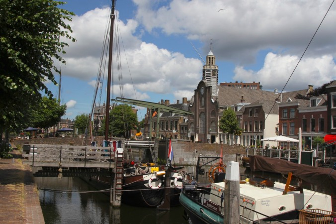 The Pilgrims' Church, Delfshaven, Netherlands
