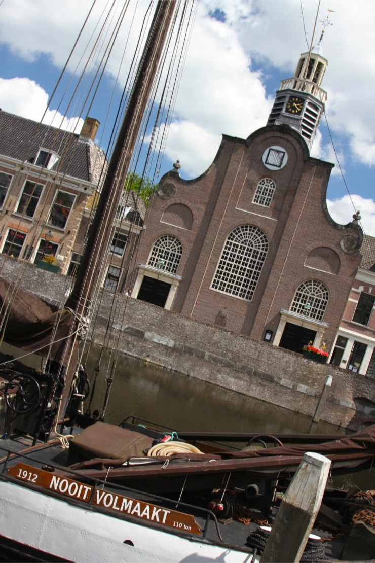 The Pilgrims' Church, Delfshaven, Netherlands